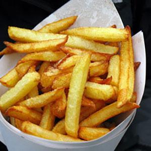 Portion de Frite 1.50 € - 2.00 € - 2.50 €